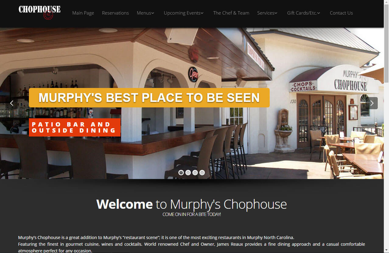 murphys chophouse restaurant